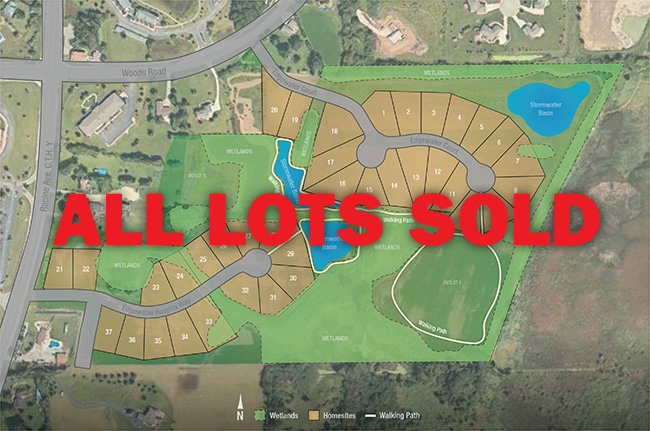 Muskego, WI - Edgewater Heights plat - Homesites avaialbe by Neumann Developments, Inc.