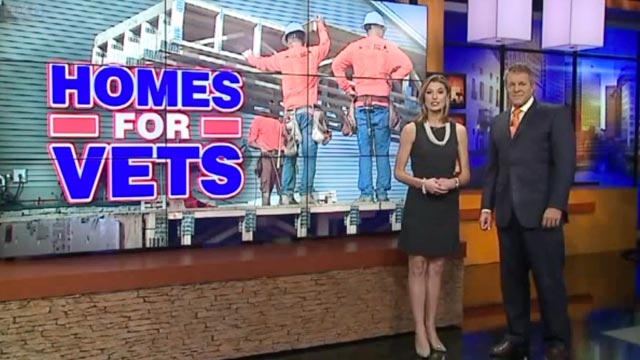 Homes for Vets FOX6 Milwaukee feature - BY DEANDRA CORINTHIOS, UPDATED AT 06:23PM, OCTOBER 21, 2015